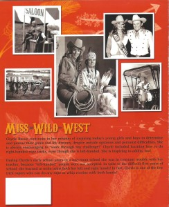 Cowgirl Book 2 (Back of Book)